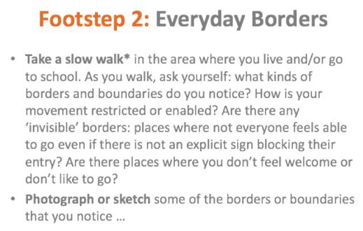 Everyday Borders